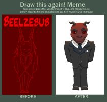 Before and After: Beelzebub by mirics
