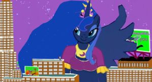 Now you look like a Princess of Lilliput Luna by OceanRailroader