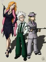 Juubantai Mobsters by KatChan00