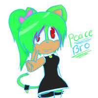 Peace bro by lune101