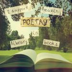 Poetry in Library Books by teenyxtinyxtina
