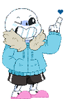 Love Sans (animated) by pawbit