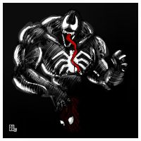 Venom Is Not Puny by Rafta