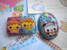 Kawaii Resin Charms by puccilaand
