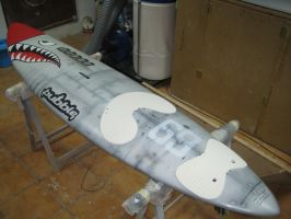 Shark-plane-board by Sprayter