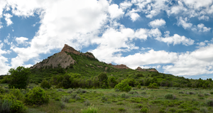 Rocky Colorado Foothills by Bawwomick