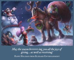Blizzard Holiday Card 2014 by SamwiseDidier