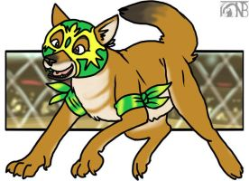 Lucha Dhole by kompy
