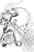 Oz Comics Ghost Rider challenge by paulabstruse
