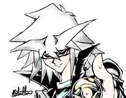 Dark Bakura by Call-Me-Crazy101