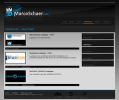 MarcoSchaer.com Webdesign by webgraphix