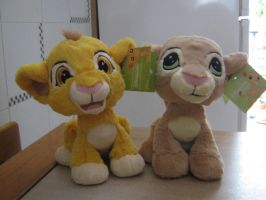 TLK collection: Disneyland Paris Simba and Nala by kary218