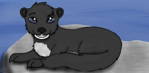 Michael the Otter by Akeela-Quill