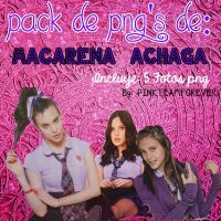 Pack de Png's de Macarena Achaga =) by PINKTEAMFOREVER