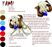 Character referance: Tami by xAshleyMx