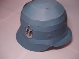 1:1 Stahlhelm Papercraft by RocketmanTan