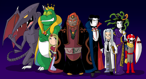 Ganon and the Conspirators by General-RADIX