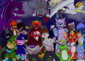 Happy Halloween 2013!! by Kendulun-the-Kihoryu