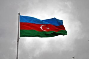 Azeri Flag by rafiqsv
