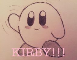 Kirby!!! :) by MODSISAWESOME123