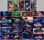 Official Topps Return of the Jedi 3D sketch cards by Kapow2003