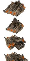 LEGO Snowspeeder Multiview by Marty--McFly