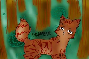 Brambleclaw Does The Border Patrols by runtyiscute1999
