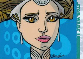 Clone Wars Sketch Card 4 by grahamart