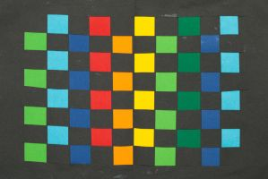 Paper checkers pattern by ISawEverything
