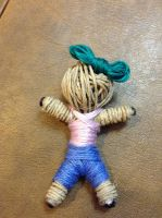 Girl string doll 2 by Leanneisme