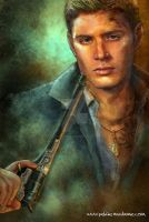 Dean Winchester - No Flames by Petite-Madame