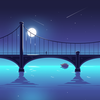 Bridge Illustration by Icondesire