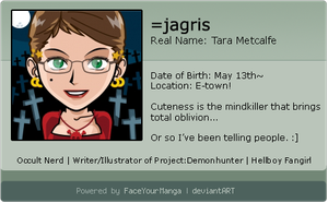 Face Your Manga ID - J-chan by jagris