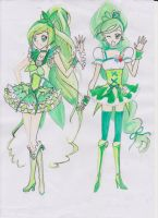 Request no. 4 :Precure Fresh and Suite OC by Rona67