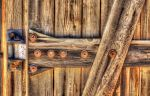 Weathered door by PaulWeber