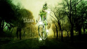 Peter Sagan - The Superstar of Bicycling by TommyniusGFX