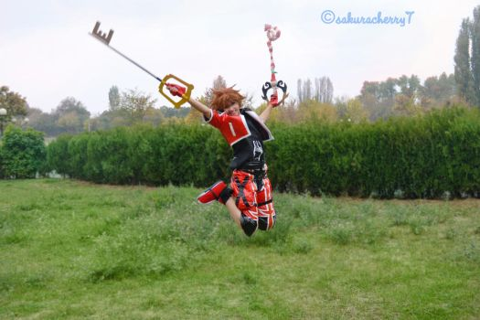 Sora Valor Form has High Jump by SakuraCherry7