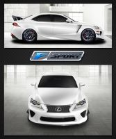 Lexus IS-F Nurburgring Edition No Turbo by nizmo410
