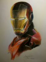 Iron Man by psychaurelidiot