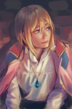 Color study: Howl by dorayakyun
