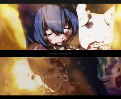 Fairy Tail - Wendy and Charla by SeyNox