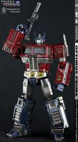 Optimus Prime MP-10 Repaint - Its You And Me Megs by xeltecon