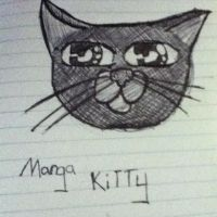 Random kitty I drew in Japanese cause I was bored by whenwolveshowl
