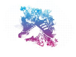 adidas abstract by mirerror