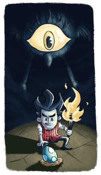 Don't Starve - Don't Take The Tallbird's Egg! by doczal