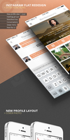 Instagram Flat Redesign + Extra Functions by codebuild