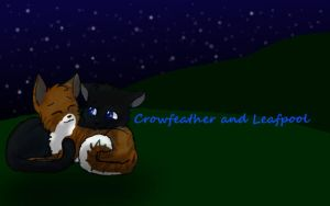 Crowfeather and Leafpool early 2012 pic by NeOnXNightstorm