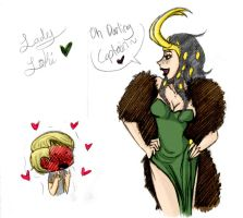 Lady Loki by M-u-n-c-h-y