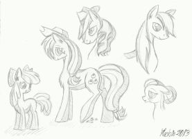 Apple Doodles by Flashie666