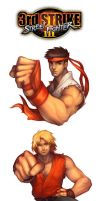Street Fighter 3 by gndagnor